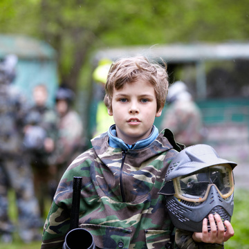 A partir de quel âge peut-on faire du paintball ?