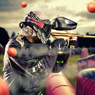 Paintball de groupes Bayonne